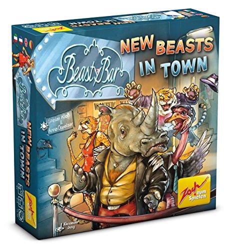 Zoch 601105093 - Beasty Bar - New Beasts in Town, Kartenspiel - Karte-spiel Affe