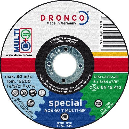 DRONCO SPECIAL EXPRESS - DISCO CORTE METAL AS46T INOXIDABLE 150X1 6X22 23