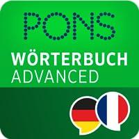 PONS Wörterbuch Französisch - Deutsch ADVANCED