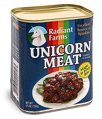 Viande de licorne en boite de conserve