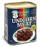 Figura de Peluche en Lata de conserva Unicorn Meat/Carne de Unicornio