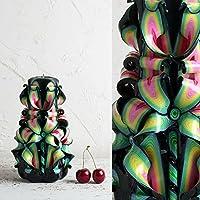 Votivo-Kerzen - handgeschnitzte Kerzen im Angebot - dekorative Kerzen handgefertigte - EveCandles