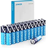 Anker Alkaline AA Batteries (24-Pack), Long-Lasting & Leak-Proof with PowerLock Technology, High Capacity Double A Batteries