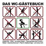 Das WC-Gästebuch: Klosprüche  Witze  Unnützes Wissen  Psychoanalyse des Pinkelns  Rätsel  Geschlechterkampf  Platz für Gästeeinträge  und vieles mehr