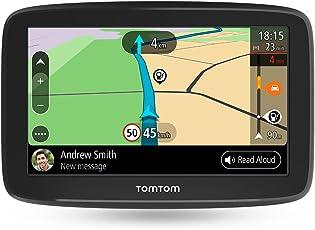 TomTom Go Basic Pkw-Navi (15,2 cm (6 Zoll) Updates über WI-Fi, Traffic über Smartphone, Lebenslang Karten-Updates (Europa), Smartphone Benachrichtigungen, TomTom Road Trips)