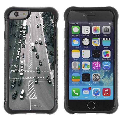 Graphic4You Cathedral Girona Spain Postkarte Ansichtskarte Design Shockproof Anti-Rutsch Weichen Hülle Case Tasche Schutzhülle für Apple iPhone 6 Plus / 6S Plus Barcelona