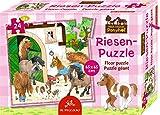 Spiegelburg 14314 Riesenpuzzle Mein kleiner Ponyhof (24 Teile)