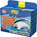 Tetra APS 300 Aquarienluftpumpe Luftpumpe Membranpumpe für Aquarien (mit Lufthahn zur Kontrolle des Luftstroms, ohne Luftschlauch Luftpumpenschlauch Ausströmer, Rückschlagventil)