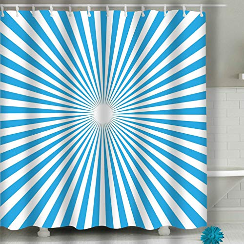 (Zongxiahuoguo Shower Curtain Wrapping Paper Vector Illustration Seamless Cupcake Food Poster Design White Black Brown Abstract Colored Picture 60 x 72 Inches)
