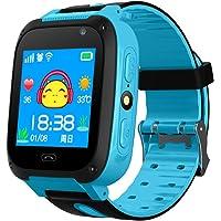 Impermeabile touch screen GPS Tracker Smart Phone orologio con contapassi fotocamera SIM anti-perso SOS bracciale…