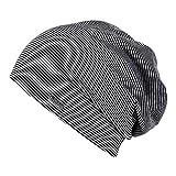 Chillouts Pittsburgh leichte Mütze für Damen & Herren One Size! in der Farbe Schwarz Grau NEU !
