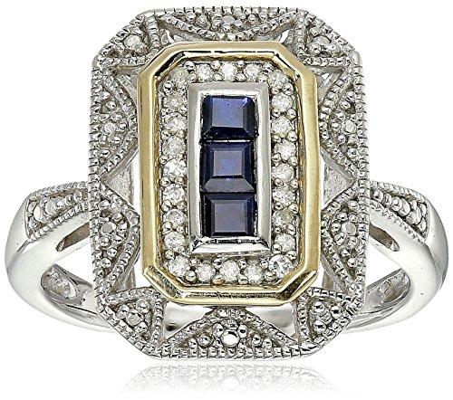 plata-de-ley-y-14-k-oro-amarillo-azul-sapphire-y-diamond-accent-art-deco-style-anillo-1-10-quilates-