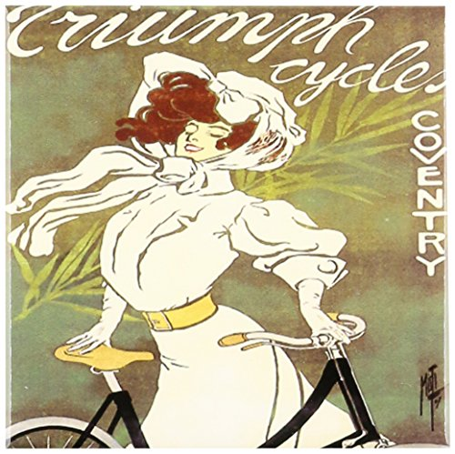 3drose CT _ 129981 _ 1 Vintage Triumph Cycles Coventry Fahrrad Poster Advertising Keramik Fliesen, 4-Zoll (Coventry Bad)