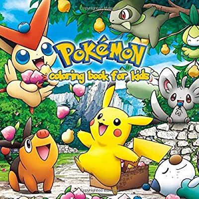 Pokemon Coloring Book For Kids: Pokemon Coloring Pages for Everyone, Adults, Teenagers, Tweens, Older Kids, Boys, & Girls, ... Practice for Stress Relief & Relaxation de Independently published