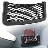 Adapter Universe KFZ Auto PKW Ablagenetz Stretch Fach Autonetz 20 x 8 cm Kofferraum Interieur Gepäck Netz Universal