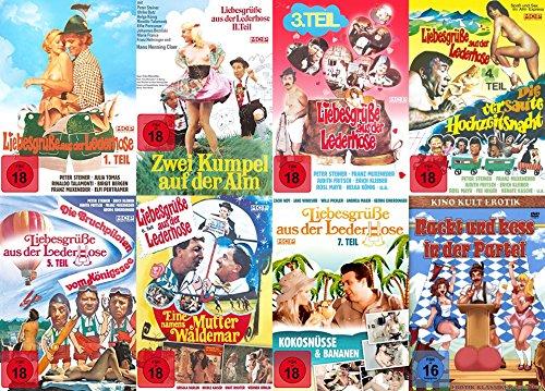 (Sexy Classic LIEBESGRÜSSE AUS DER LEDERHOSE Collection Teil 1 2 3 4 5 6 7 + Bonus 8 DVD Limited Edition)