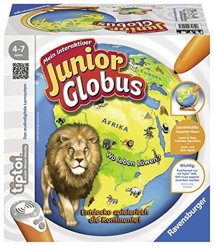 Preisvergleich Produktbild tiptoi® Mein interaktiver Junior Globus: Entdecke spielerisch die Kontinente!