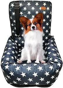 Zeexipdr Autositz Für Hunde Autositze Für Haustiere Der Hochwertige Hundesitz Bietet Eine Komfortable Und Sichere Reiseumgebung Für Hunde Kann Zerlegt Gewaschen Und Gereinigt Werden Haustier