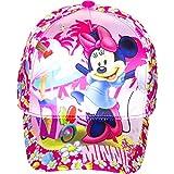 Disney Minnie Mouse Baseball Cap für Kinder, glänzerder Stoff, pink, Art. 2693, Gr. 54