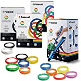 Polaroid B4010900 Draw Blue  Color Starter Bundle, Neon kit, Rainbow Kit, Standard Kit, 1.75 mm, Pla, Multi Color (Pack of 4)