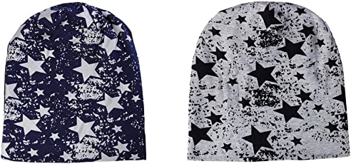 Noise NOICAPCMB012 Polyester Fault in Stars and Fault in Stars Slouchy Beanie Combo, Adult Pack of 2 (Multicolor)