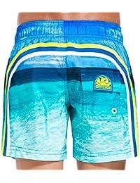 Short de baño Chico Sundek 504 Azul Oceano