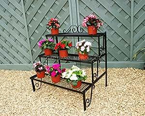 GAP Garden Products - Portavasi a 3 mensole