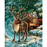 5D Diamant Dekor Felicove, DIY Weihnachten Rhinestone Klebte Stickerei Tier Malerei Kreuzstich Wohnkultur