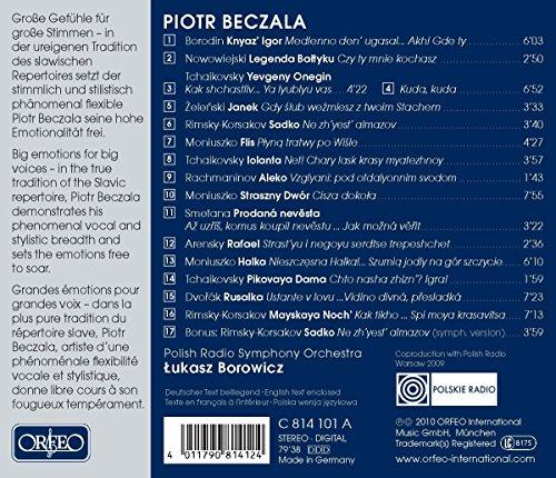 Slavic Opéra Arias