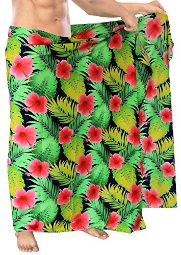 traje-de-bao-de-los-hombres-aloha-natacin-pareo-pareo-de-playa-coverups-abrigo-traje-de-bao-rojo