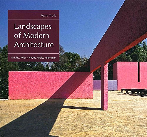 Landscapes of Modern Architecture: Wright, Mies, Neutra, Aalto, Barragan por Marc Treib