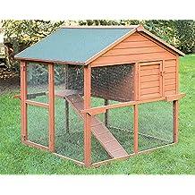 Gallinero de madera para exterior Ontario. Capacidad para 5-7 gallinas