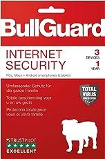 BullGuard Internet Security 2019 - 1 Jahr / 3 Geräte (PC, MAC, Android)|Vollversion|3 Geräte|1 Jahr|PC/Mac/Android usw.|Download|Download