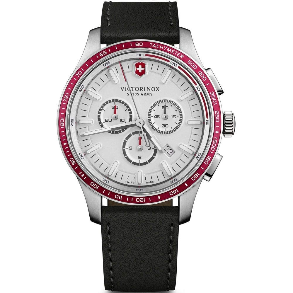 Victorinox Men's Alliance Sport – Swiss Made Chronograph Stainless Steel Watch 241819
