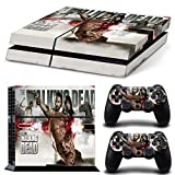 46 North Design Playstation 4 PS4 Folie Skin Sticker Konsole TWD aus Vinyl-Folie Aufkleber Und 2 x Controller folie