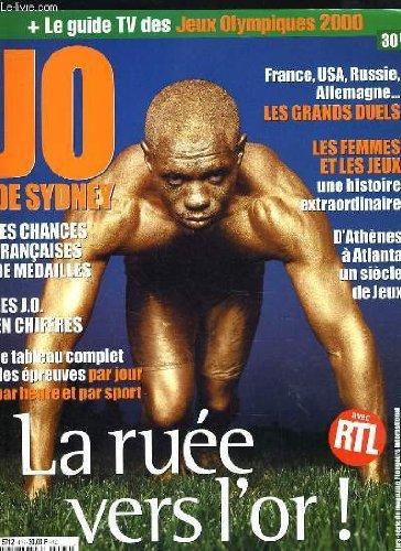 LE GUIDE DES JEUX OLYMPIQUES SYDNEY 2000