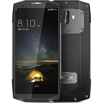 Blackview BV9000 Pro 4G Smartphone Phablet 5.7 pollici Android 7.1 MTK6757CD Octa Core 2,6 GHz 6 GB RAM 128 GB ROM 13,0 MP + 5,0 MP Telecamere posteriori doppi NFC OTG, Grigio