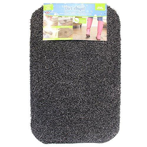 Dirt Angel Fußmatte /Schmutzfangmatte waschbar 50 x 75 cm schieferfarben