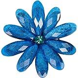 Ruikey Broche de Cristal del Pétalo del Color Broches para Vestidos de Fiesta Broches de Bisuteria
