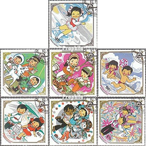Prophila Collection Mongolei 1584-1590 (kompl.Ausg.) 1983 10 Jahre Kinderfonds (Briefmarken für Sammler) Comics