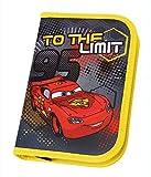 Undercover CAIM0440 - Schüleretui Disney Cars mit Stabilo, Markenfüllung, 30 teilig, rot