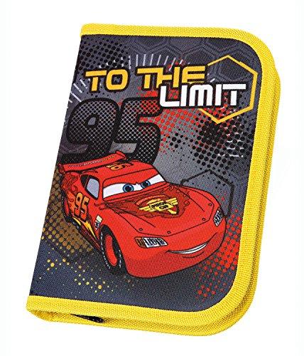 Unbekannt Scooli CAIM0440–Estuche Escolar (Disney Cars con STABILO, Relleno de Marca, 30Piezas), Color Rojo
