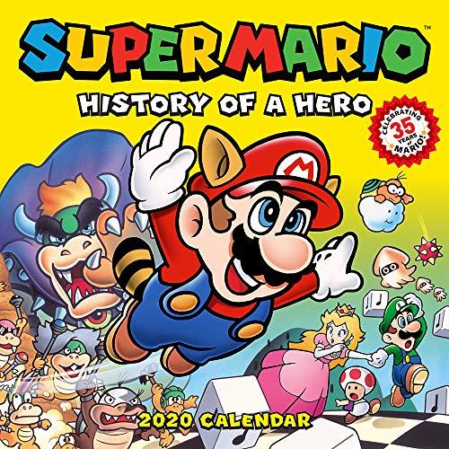 Nintendo: Super Mario Retro 2020 Wall Calendar: History of a Hero