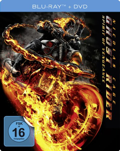 Ghost Rider: Spirit of Vengeance - Steelbook (+ DVD) [Blu-ray]