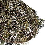 Nitehawk - Ghillie-Tarnnetz aus Stoff - 70 x 90 cm