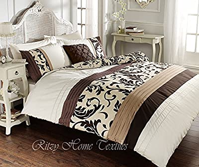 Luxury duvet cover sets with pillowcases new reversible polycotton bedding - inexpensive UK light shop.