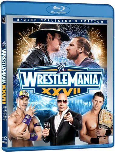 WWE: WrestleMania XXVII (Two-Disc Collector's Edition) [Blu-ray] by John Cena - Wwe-wrestlemania
