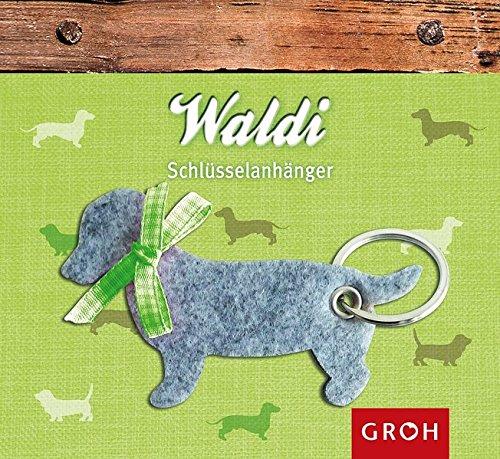 Schlüsselanhänger Waldi (Hund-empfänger)