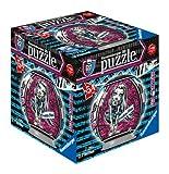 Ravensburger 11899 - Puzzle 3D esférico (54 piezas), diseño de muñecas Monster High