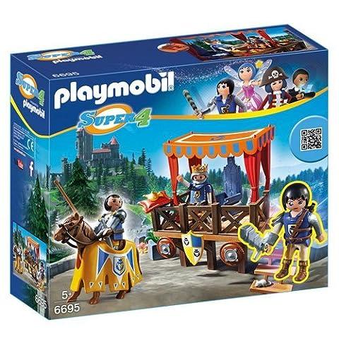 Playmobil - 6695 - Super4 - Tribune Royale Avec (4 A Castello)